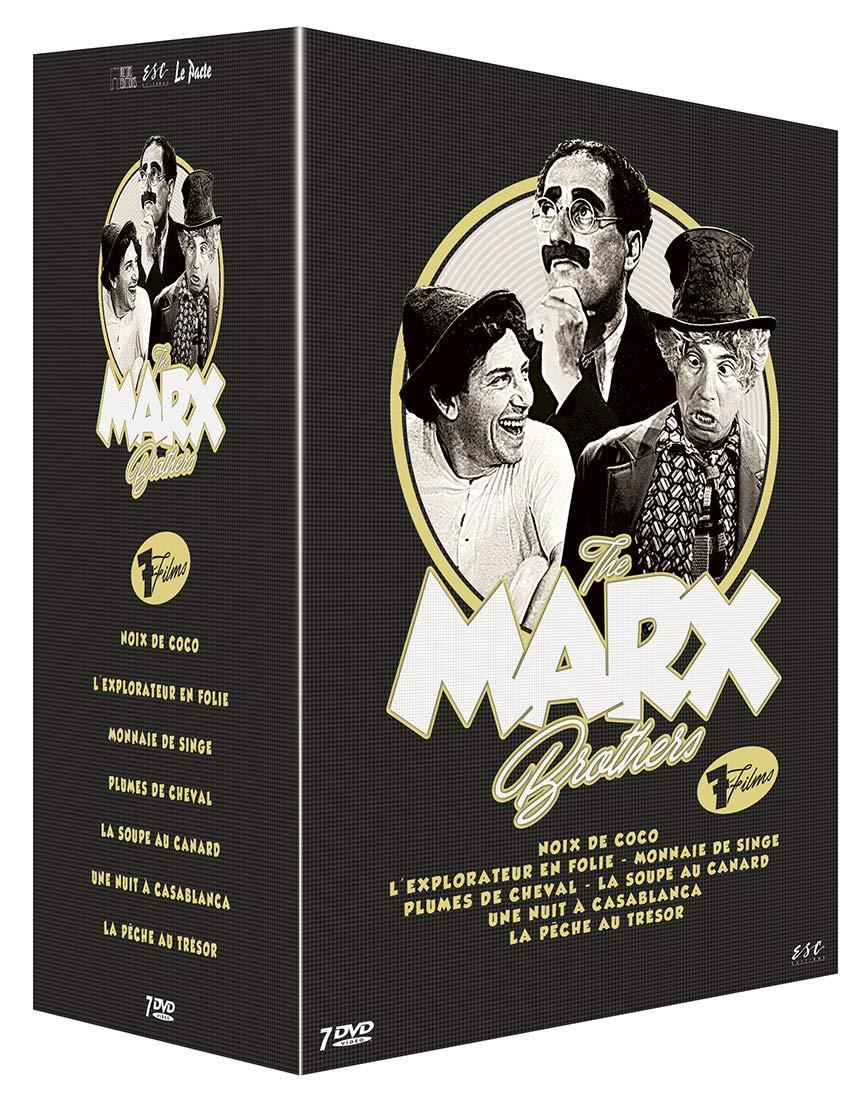 Marx Brothers - Coffret 7 Films [Francia] [DVD]: Amazon.es ...