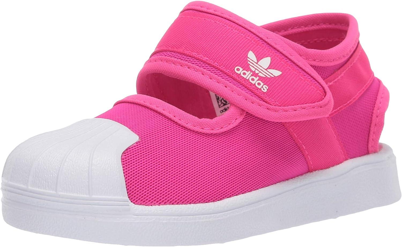 Circulo Subir crema  Amazon.com: adidas Infant Superstar 360 Sandal, Shock Pink/White/White:  Shoes