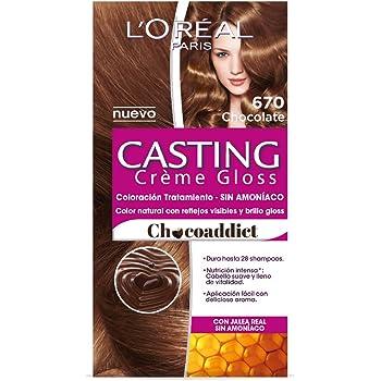 Tinte Capilar Permanente Casting Créme Gloss L Oréal Paris 670 Chocolate 94cbf1b5f843