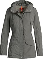 Parajumpers Mary Todd Hooded Windbreaker (Grey-Green, M)