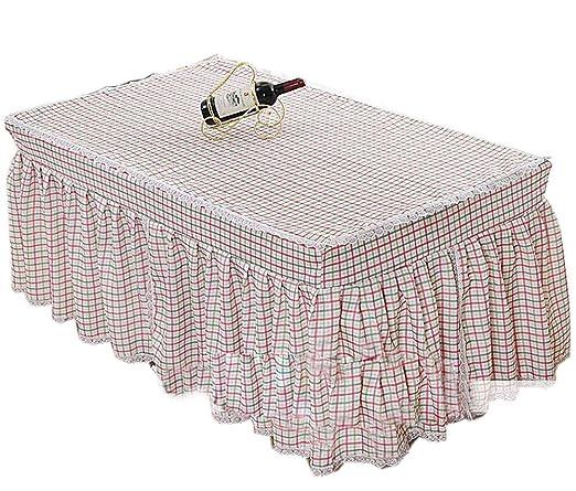 Cuadrado Cuadrado Rosa Cubre Mesa Cubre Mantel Dustproof Lace ...
