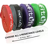 TheFitLife Resistance Pull Up Bands - Pull-Up Assist Exercise Bands, Long Workout Loop Bands for Body Stretching…