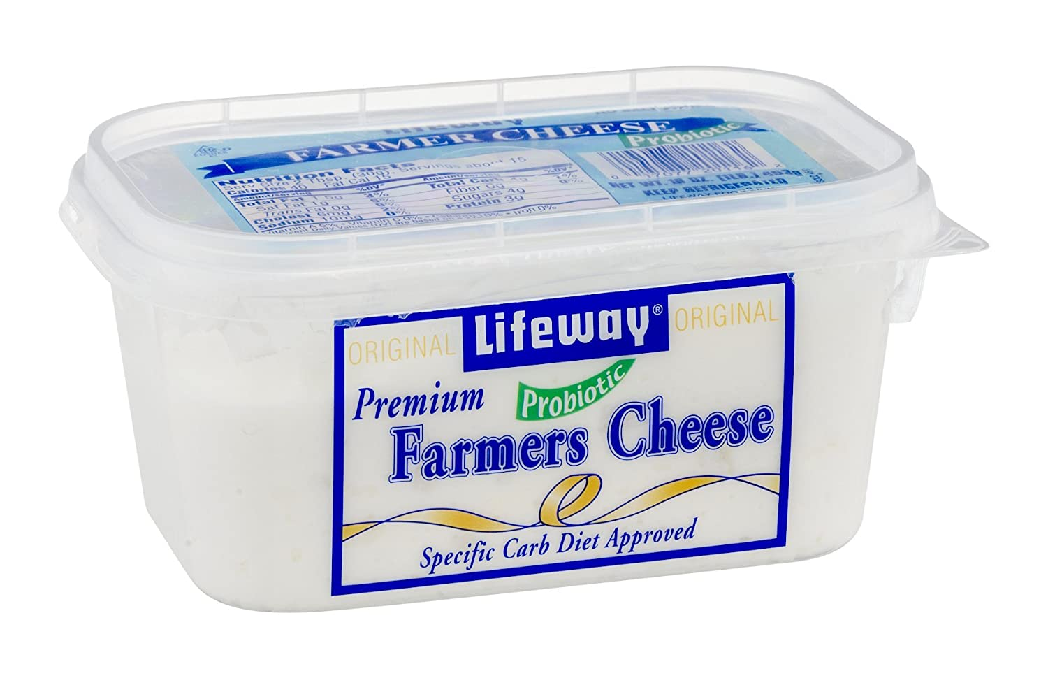 Peachy Lifeway Old Fashioned Farmers Probiotic Farmer Cheese 16 Ounce 8 Per Case Download Free Architecture Designs Jebrpmadebymaigaardcom