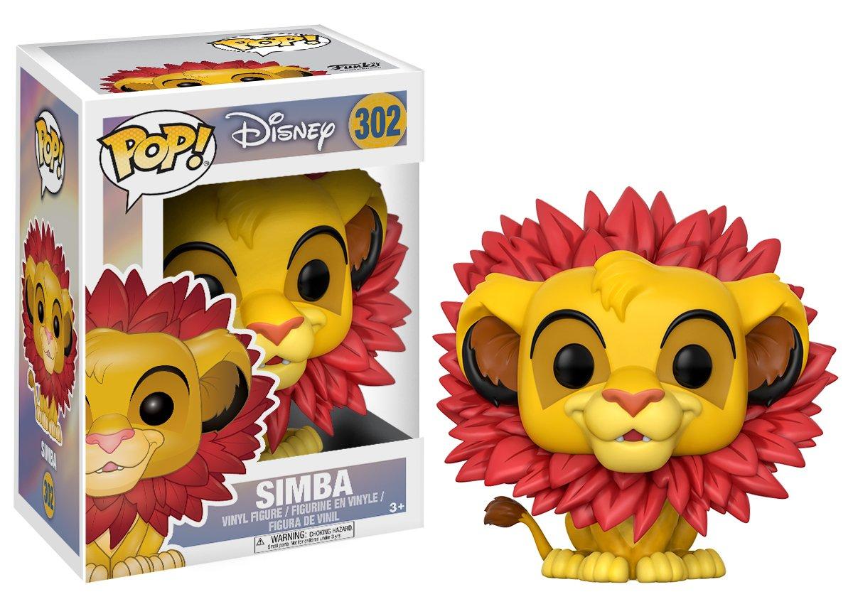 The Lion King - Simba Flocked Pop 2019 Vinyl Figure ***PRE-ORDER***
