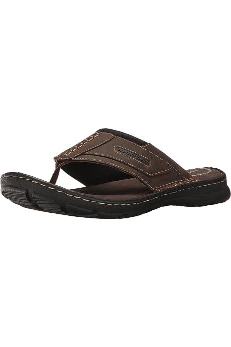 Rockport Mens Darwyn Thong Flip Flop