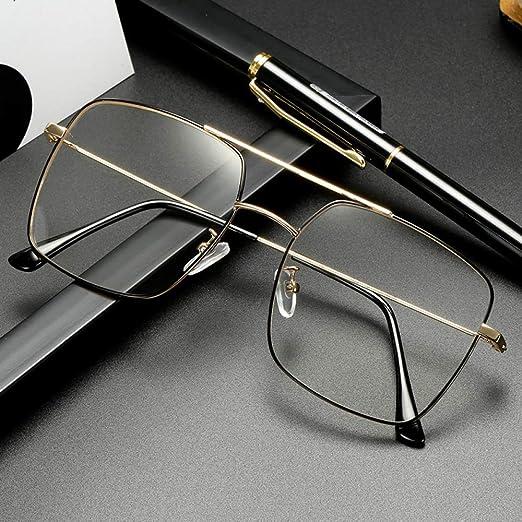 Yangjing-hl Gafas de Sol para Hombres y Mujeres con Montura ...