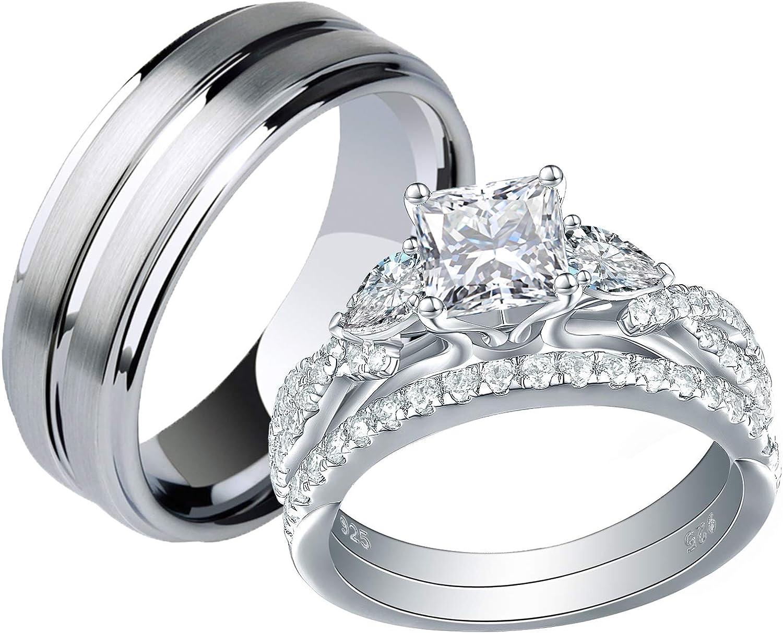 بتقييد مفزوع اثار Silver Wedding Rings For Her Psidiagnosticins Com