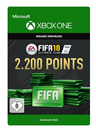 Fifa 18 Ultimate Team 2200 Fifa Points Xbox One Download Code