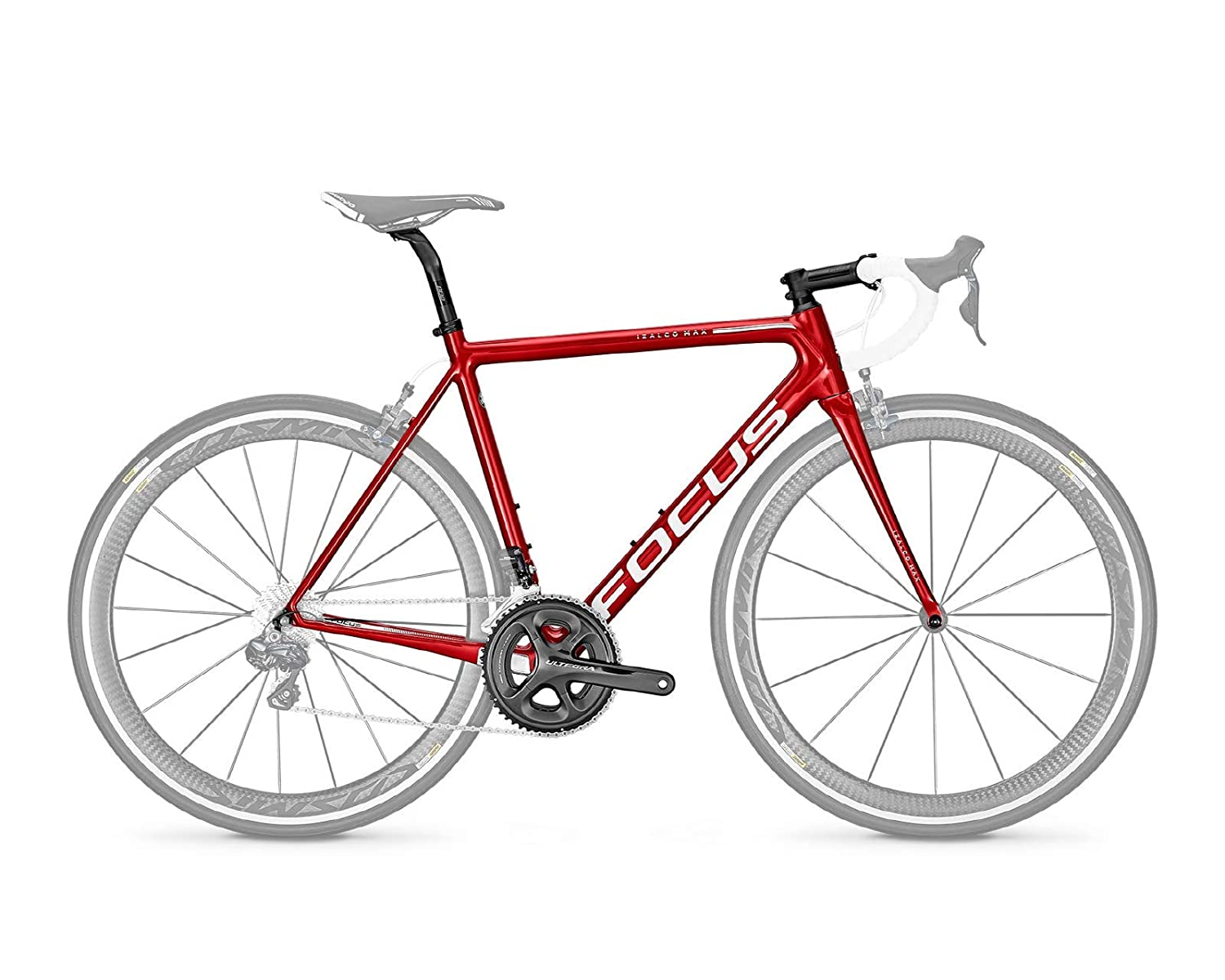 FOCUS(フォーカス) Izalco Max Mechanical フレームセット 2018年 - Candy Red [Size: XXS/XS/S/M/L] [並行輸入品] S[52]  B07N84KB62