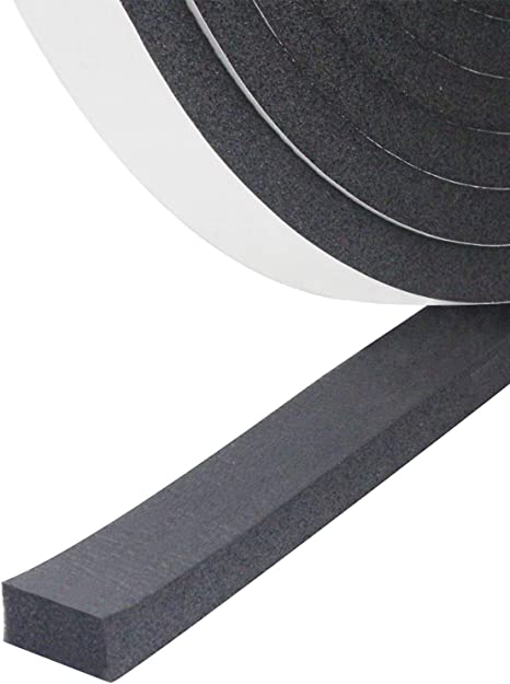 April Gift Sponge Foam Windshield For Doors Weatherproof SeInsulation Tape Weatherproof SeSingle-Sided Foam Tape For Exterior Items In Household Offices