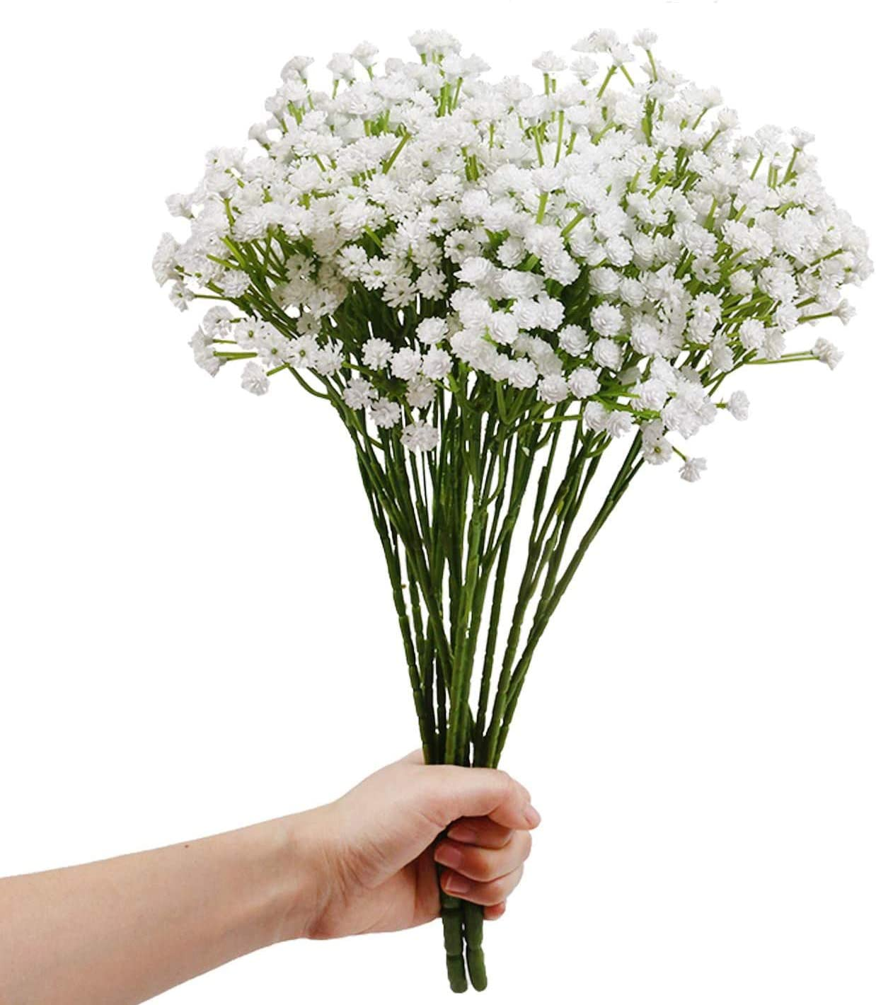 Plastic Fake Artificial Gypsophila Flowers Bouquet Party Home Wedding Decor New