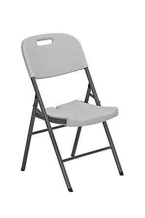 Sandusky Lee FPC182035 silla plegable de resina con asiento ...