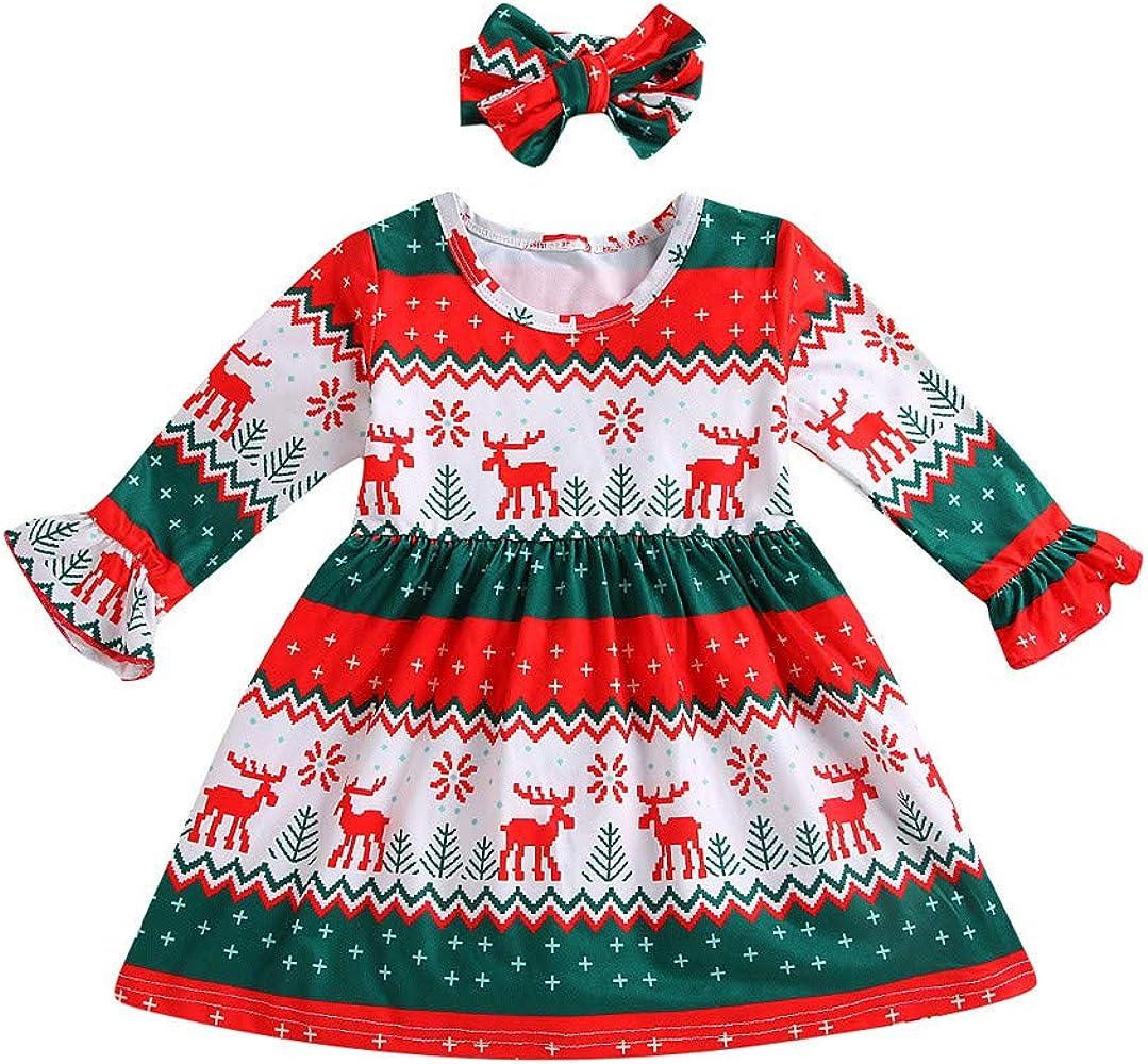 Disfraz Navidad Bebe Niña 6 Meses - 3 años Vestido de Reno Ropa Y ...