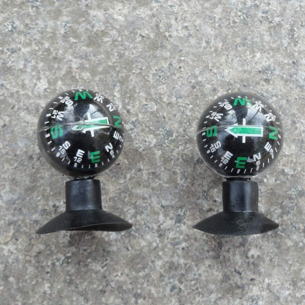 Flexible Navigation Boussole Boule Tableau de Bord Ventouse Accessoire Voiture