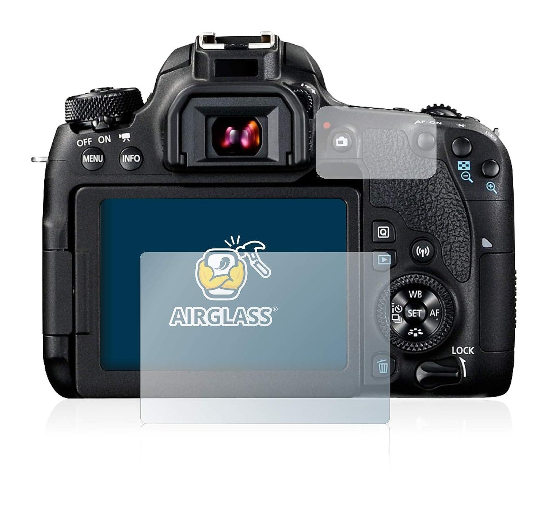 Protecteur Vitre 9H AirGlass BROTECT Protection Ecran Verre pour Canon EOS 77D