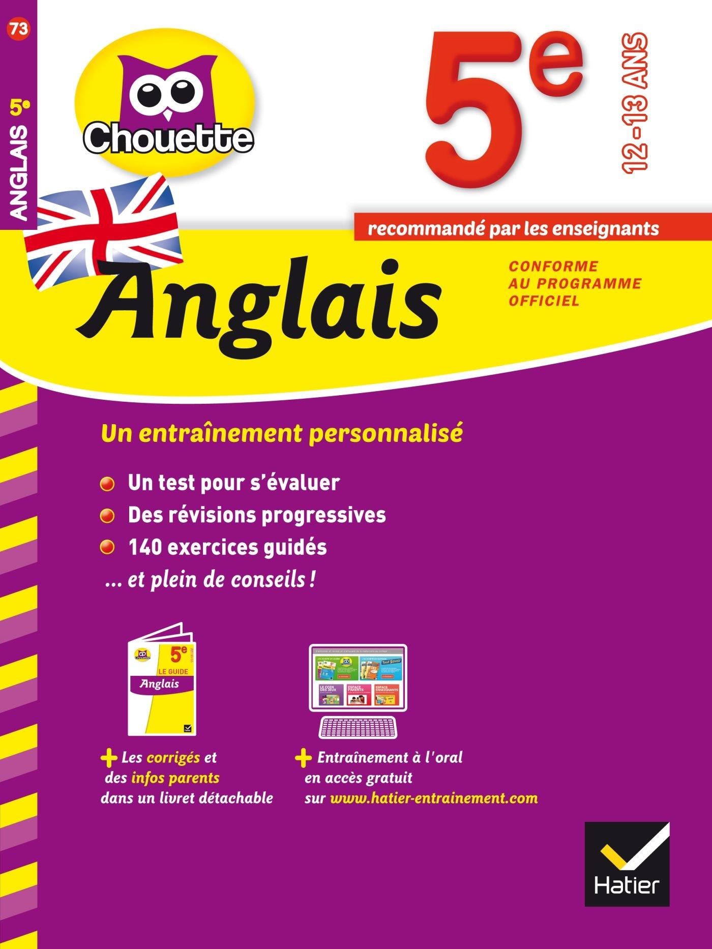 Amazon Fr Anglais 5e Cahier De Revision Et D Entrainement Nemni Nataf Nicole Touati Corinne Livres
