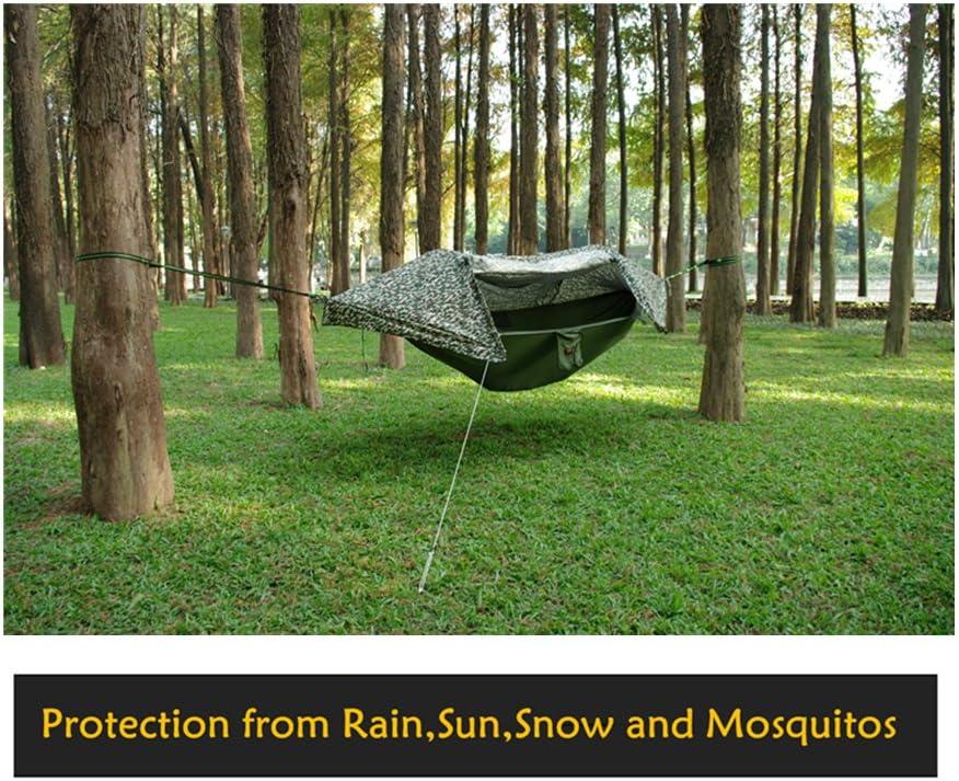 CreHouse tienda de camping hamaca con mosquitera y Rainfly ...