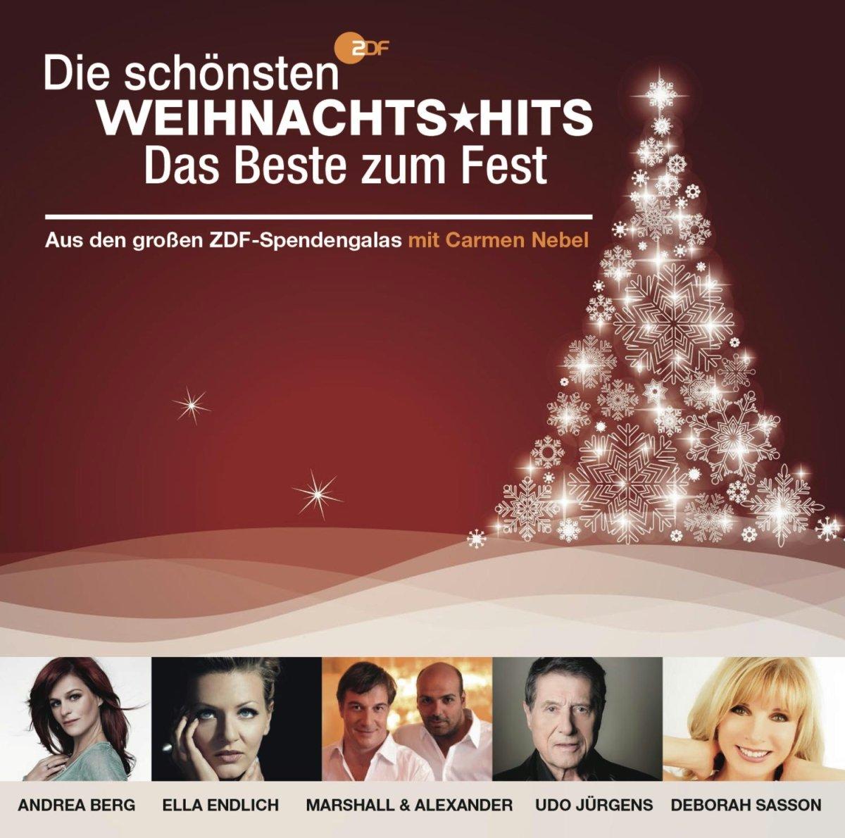 Zdf - die Schönsten Weihnachts Hits - das Beste zu - Various: Amazon ...