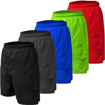 adsin Fight Prep - Pantalones Cortos de natación para Hombre (Talla Grande)