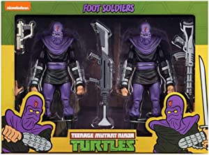 NECA TMNT Foot Solider Army Builder 7 Action Figure