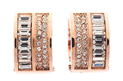 f2eb1bf38df48 Michael Kors Earrings-MKJ3152791 Michael Kors SS14 Brilliance Earrings Rose  Gold  Amazon.co.uk  Jewellery