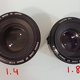 Canon EF 50mm f/1.8 II - Objetivo para Canon (distancia focal fija ...