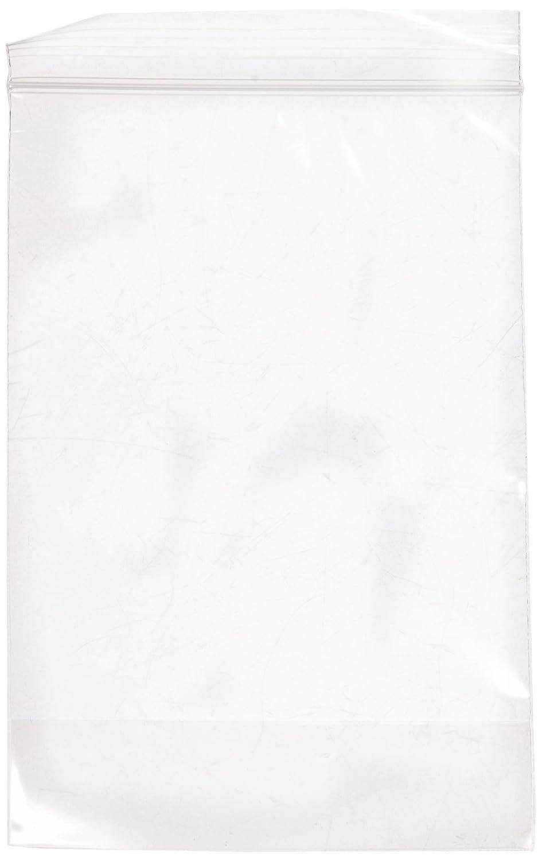 Aviditi PB3929 Gusseted Reclosable Poly Bag, 6