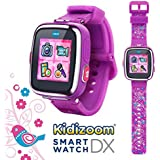 V Tech Kidizoom Smartwatch Dx Special Edition Floral Swirl With Bonus Vivid Violet Wristband