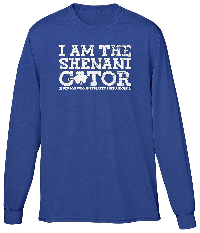 Blittzen Mens Long Sleeve T-shirt I Am The Shenanigator