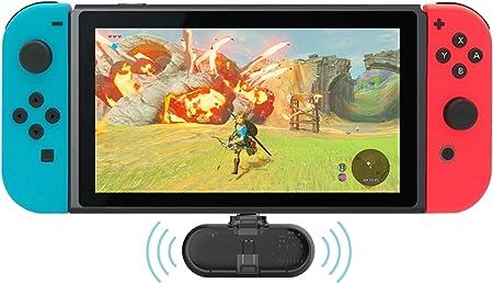 Gulikit Route+ Mini USB C Wireless Audio Adapter Bluetooth Transmisor con AptX Low Latency para Nintendo Switch, Wireless Gaming Auriculares etc: Amazon.es: Electrónica