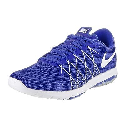 Nike Nike Boys  Grade School Nike Flex Fury 2 Running Shoes Racer  Blue White Wolf Grey 5a4e528fac85