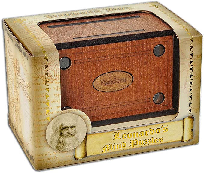 LOGICA GIOCHI Art. Pandora Secret Box - El Cofre Secreto - Jurgen ...