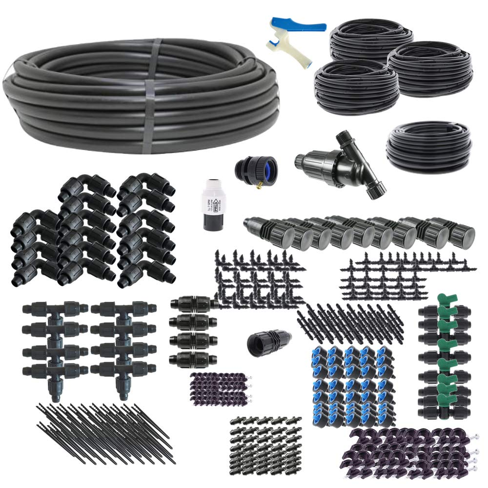 Premium Drip Irrigation Kit for Raised Bed Gardening