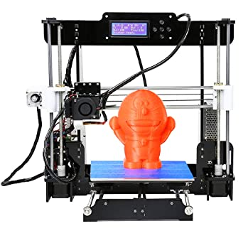 Win-Tinten 2018 Nuevo A8 DIY 3D Kit de impresora, de alta precisión autoensamblado, Portátil DIY 3D Printer Card CD Holder Contiene 1x1.75mm filamento ABS/PLA (A8-Y8-2): Amazon.es: Industria, empresas y ciencia
