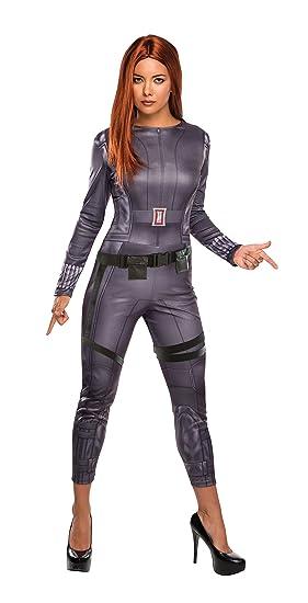 fe8775a04e Amazon.com  Women s Marvel Universe Captain America Winter Soldier Black  Widow  Clothing
