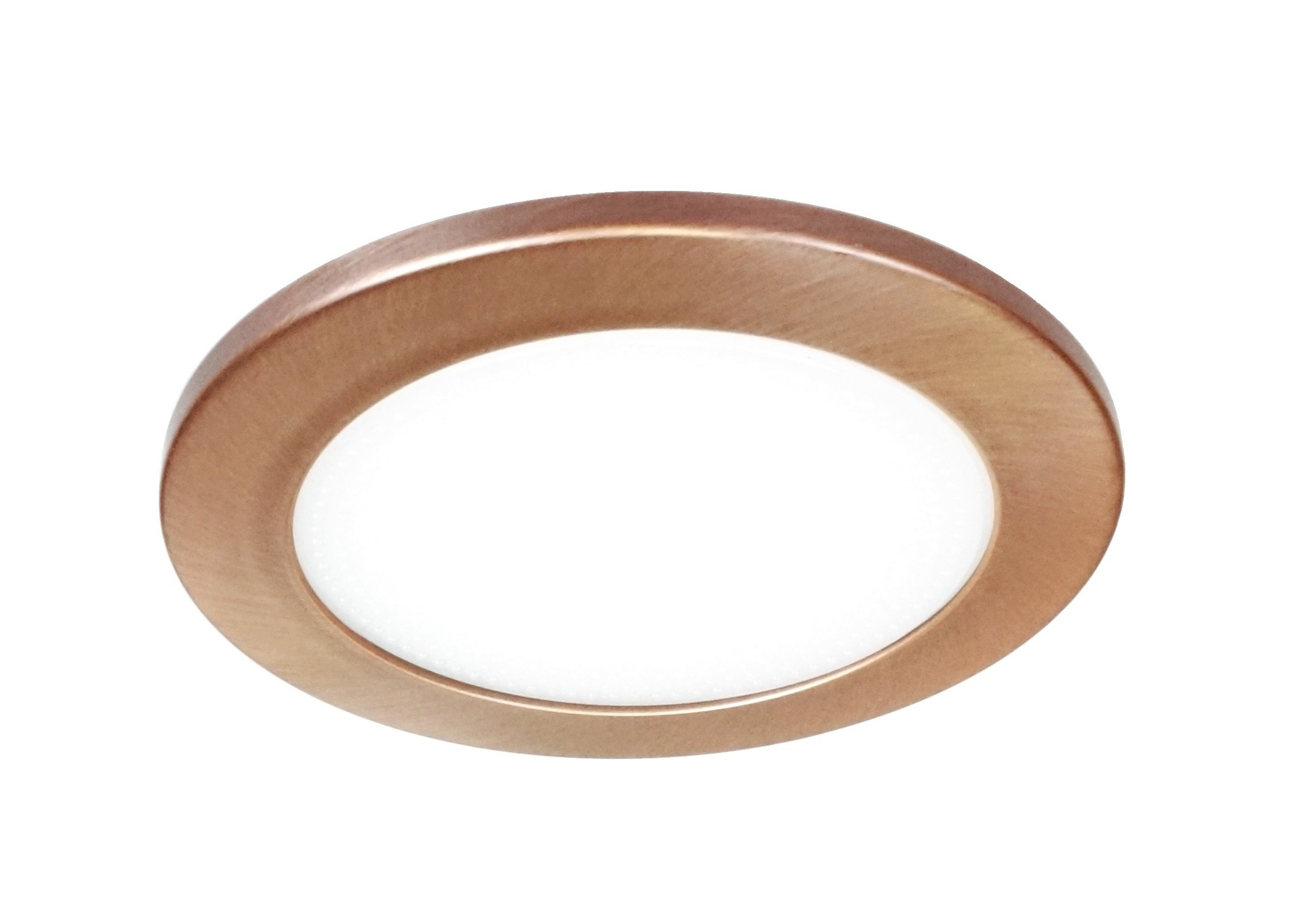 NICOR Lighting 4-inch Recessed Lighting Shower Trim with Albalite Lens, Bronze (19509BZ)