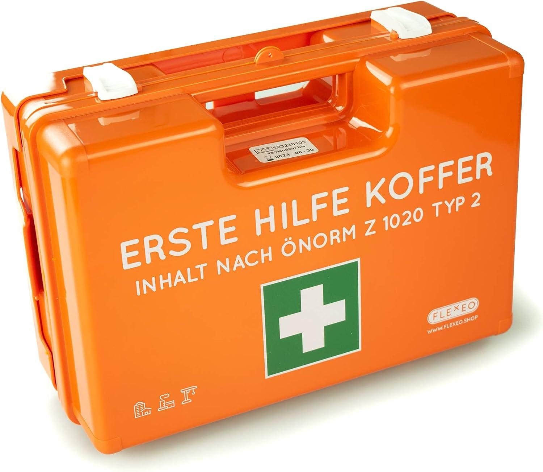Erste Hilfe Koffer Önorm Z1020 Typ2 Drogerie Körperpflege