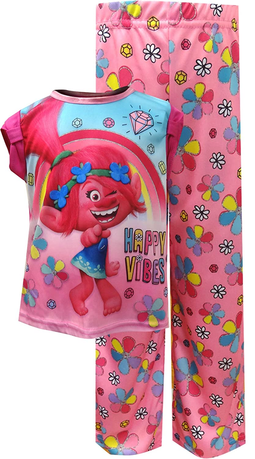 Trolls Girls' 2-Piece Pajamas TP145TS