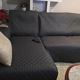 Textilhome - Funda Cubre Sofá Malu, 3 Plazas, Protector para ...