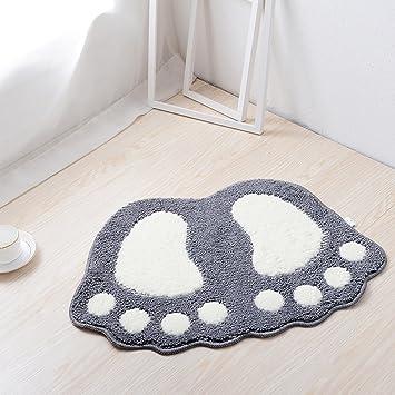 Haply Grosse Fsse Bad WC Vorleger Teppiche Teppich Absorbierenden Matten Fussmatte Badezimmer Schlafzimmer