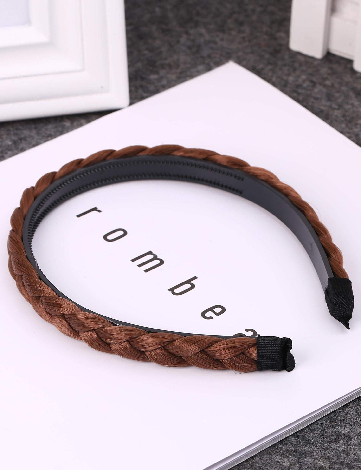 Evelove New Womens Fashion Weave Hair Shape Headband Hair Band Head Piece Headbands