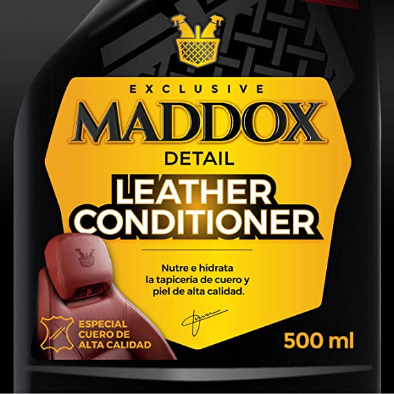 Maddox Detail 30203 Acondicionador de Cuero Y Piel, 500 Ml