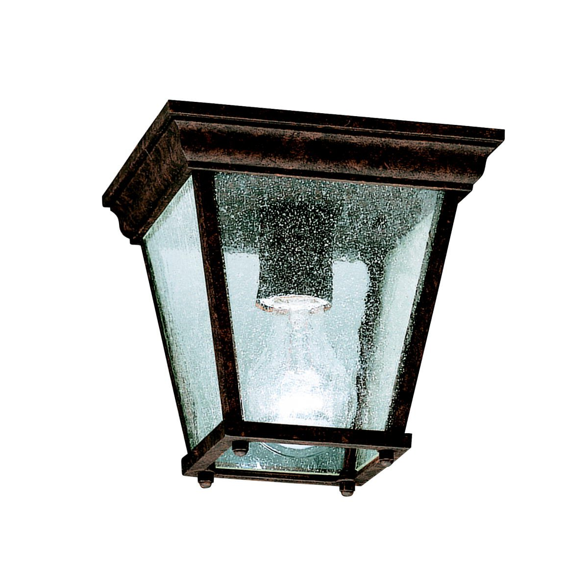 Kichler 9859bk one light outdoor ceiling mount flush mount ceiling kichler 9859bk one light outdoor ceiling mount flush mount ceiling light fixtures amazon arubaitofo Image collections