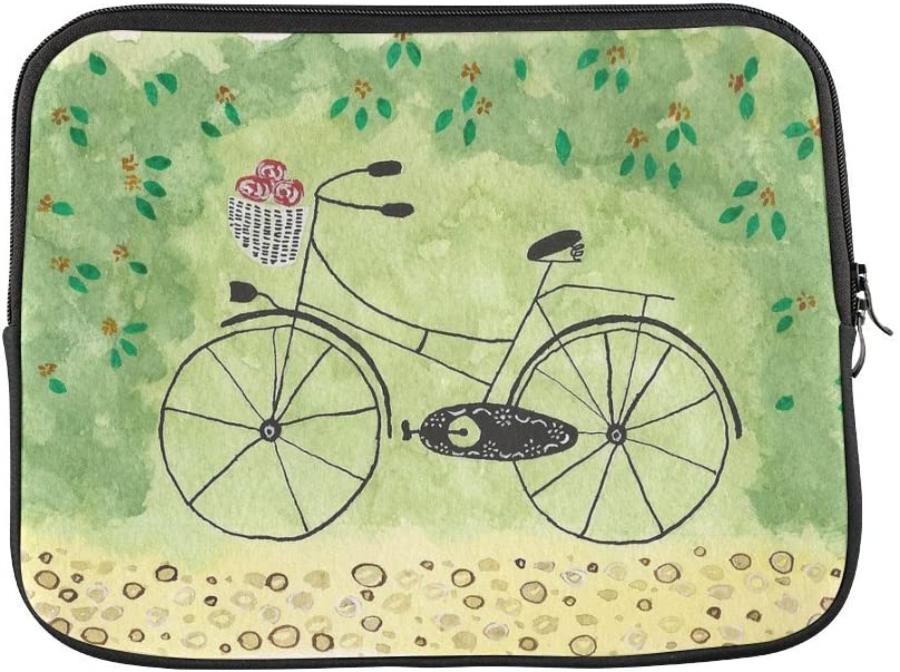 Hermoso diseño de pintura al óleo para bicicleta flores para ...