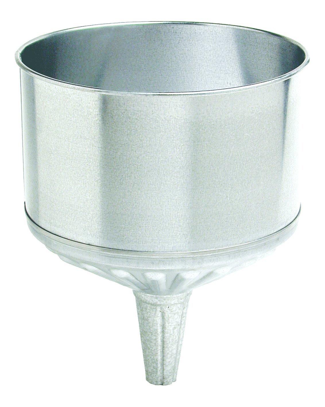 Plews 75-004 Steel Galvanized Funnel - 8 Quart Capacity