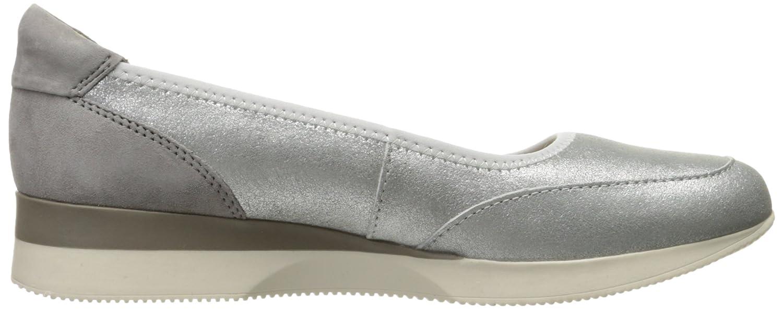 Naturalizer Women's Junction Fashion Sneaker B06Y5NZY49 6 W US|Silver