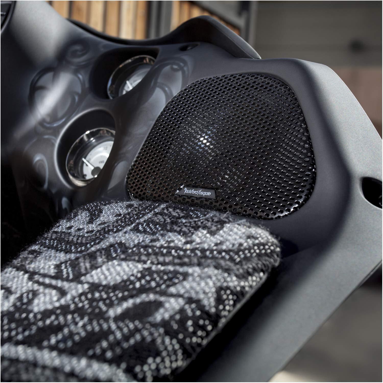 1998-2013 Rockford Fosgate TMS6RG Power Harley-Davidson Road Glide 6.5 Full Range Fairing Speakers