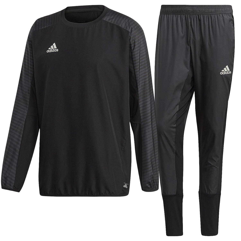 アディダス(adidas) TANGO CAGE ウィンドピステトップ & パンツ 上下セット(ブラック/ブラック) EAX32-CD8282-EAX33-CG1820 B079JRQG91ブラック/ブラック 日本 J/XO-(日本サイズ2XL相当)