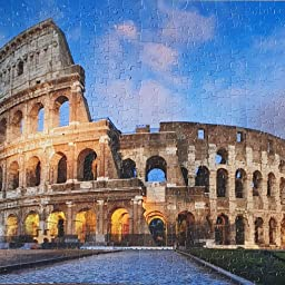 Amazon Com The Colosseum Rome Italy 504 Piece Jigsaw Puzzle 16 X Toys Games