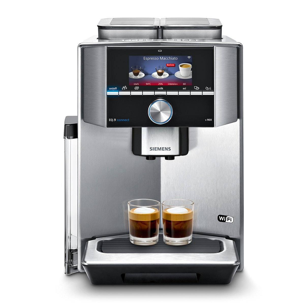 Siemens TI909701HC, macchina del caffè completamente automatica